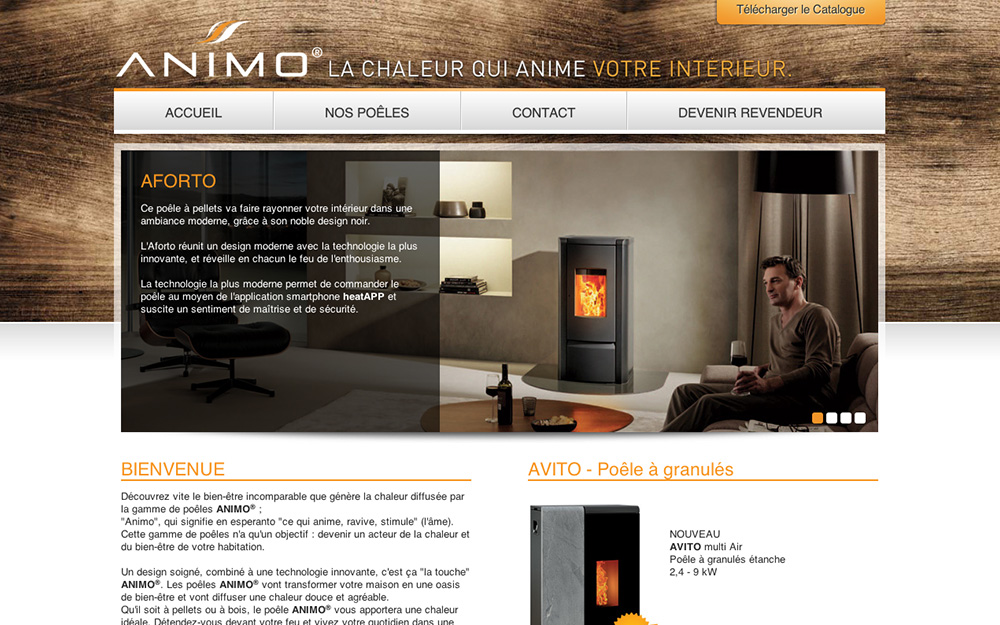 Site web Animo France