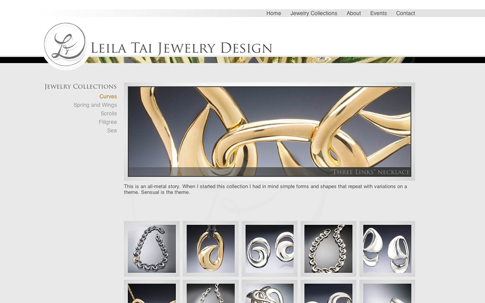 Site web Leila Tai Design