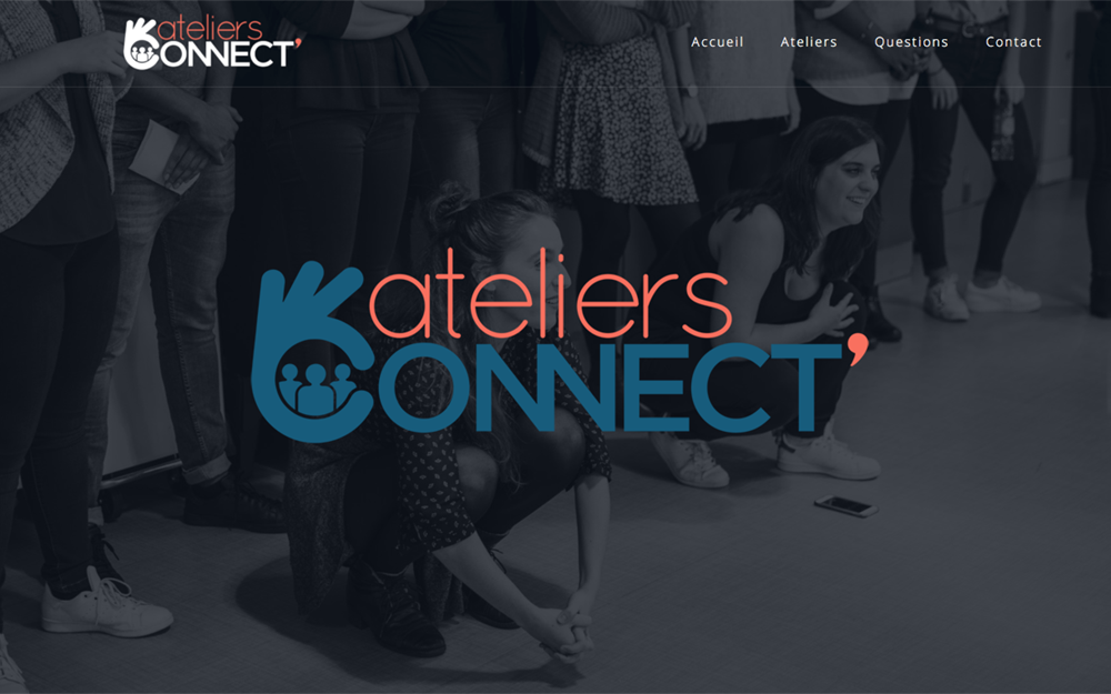 Site web Ateliers connect